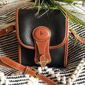Vintage Hunt Club Leather Crossbody Saddlebag